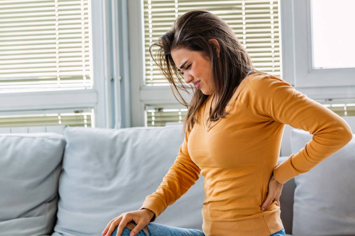 Lifestyle habits that lead to back pain.
